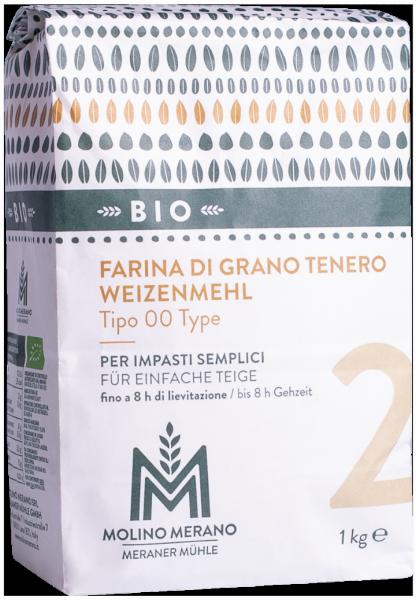 Weizenmehl Nr. 2 Type 00 Bio - Meraner Mühle