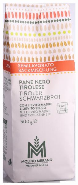 Tiroler Schwarzbrot Backmischung - Meraner Mühle