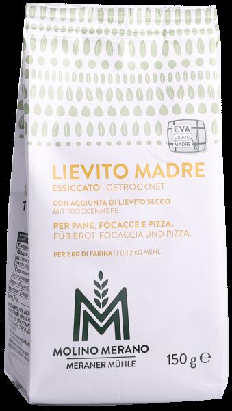 Lievito Madre Naturhefe mit Trockenhefe - Meraner Mühle