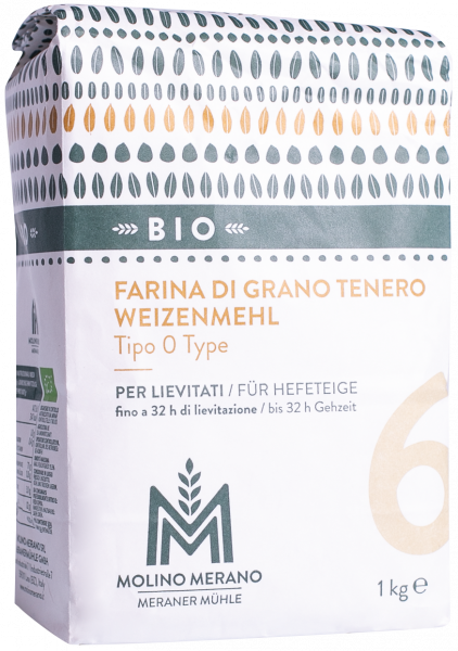 Weizenmehl Nr. 6 Type 0 Bio - Meraner Mühle